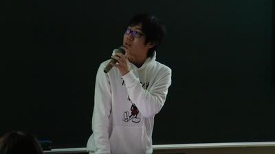 最優秀賞:太田昌宏さん(経済情報学部3年)