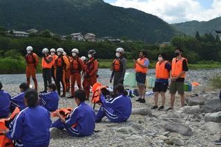 【テレビ出演】NHK岐阜「まるっと!ぎふ」で付知川での水難事故防止学習が紹介されました。
