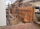 進む附属中学校校舎建築工事