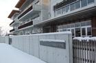 雪の朝~岐阜市内でも本格的な積雪