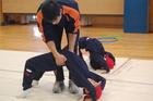 (動)学部連携~1年体育授業