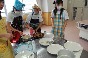 調理実習~6年家庭科