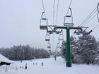 例年より多い積雪~郡上高原