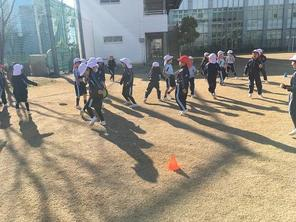 1年生体育~投げる運動
