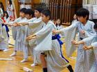 日本舞踊の稽古