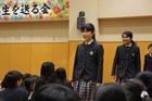 (動)6年生を送る会~卒業生入場・校長先生の話