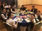 修学旅行第2日 宿舎での夕食