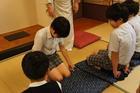 6年生礼法指導~和室での立ち居振る舞い
