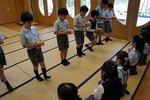 (動)4年生伝統の時間~茶道