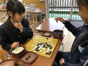 (動)3年生伝統の時間~囲碁