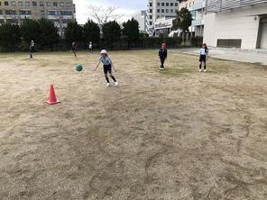 ゴール型ゲームの学習~3年生体育