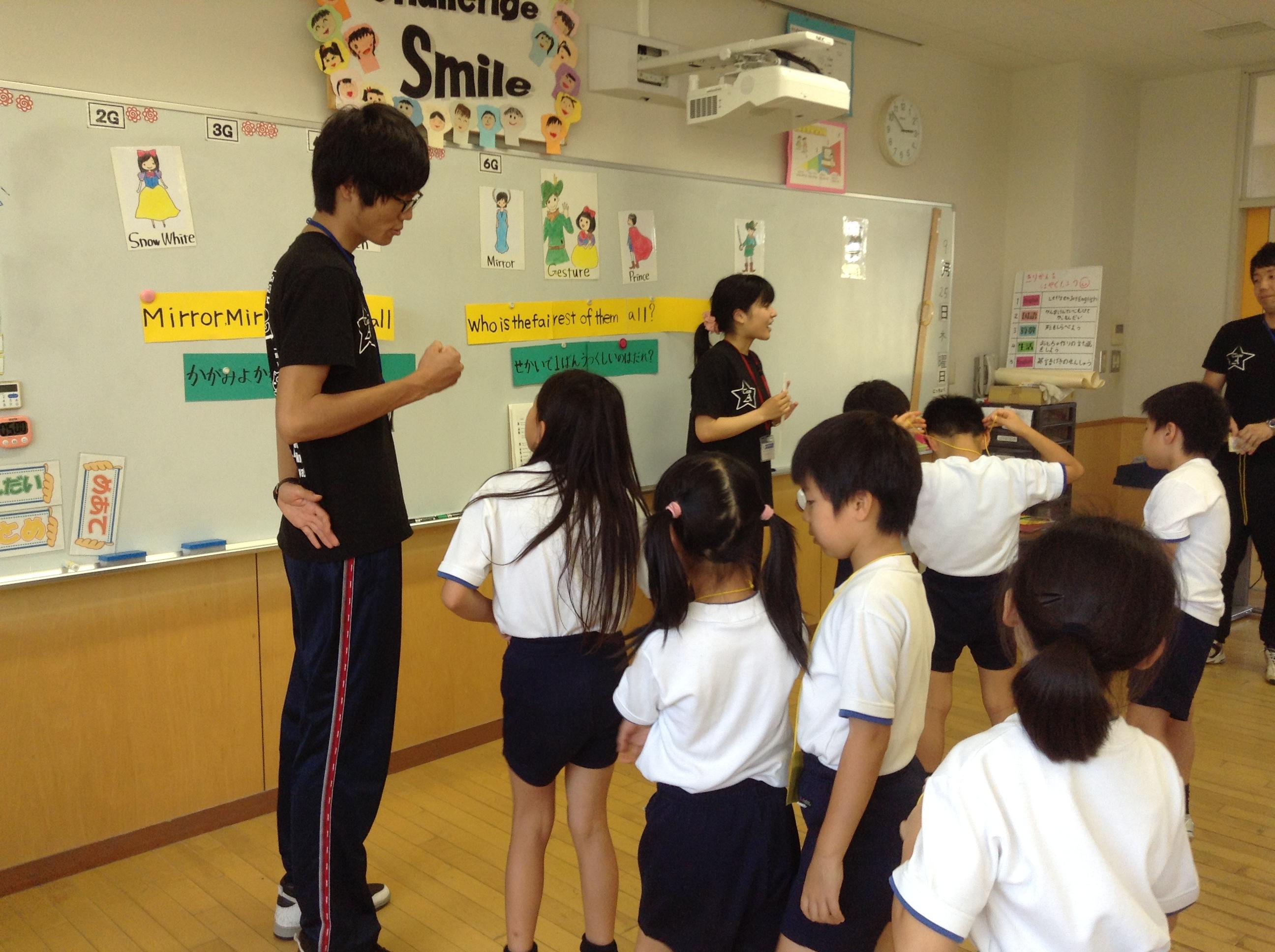 英語劇の練習 : デイリースナップで見る学びのポイント - 岐阜聖徳学園大学附属小学校