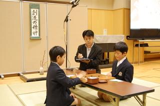 (動)囲碁トーナメント決勝~3年生