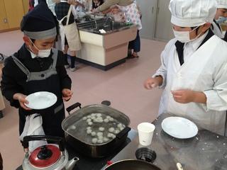 アフタースクール~団子食べくらべ