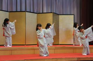 (動)日本舞踊発表会②