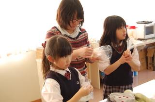 アフタースクール~オリジナル石鹸作り