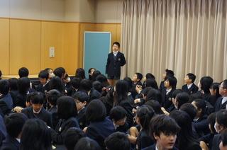 (動)終業式・校長講話