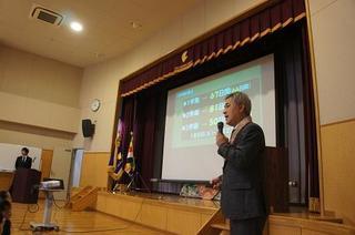 (動)3学期始業式 校長講話