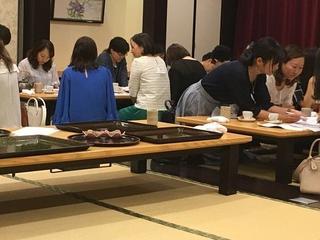 育友会学年委員会~運動会準備