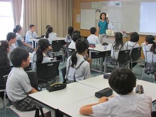 (動)附属中学校での授業体験