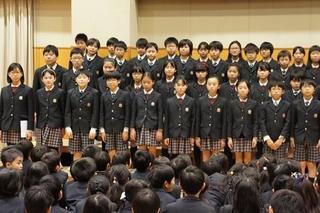 (動)6年生を送る会~卒業生から在校生へ