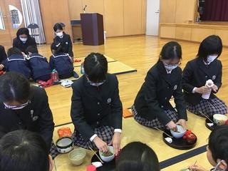 (動)幼小交流茶会~ひなまつり茶会
