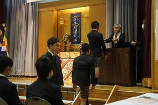 (動)第43回卒業証書授与式