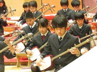 邦楽演奏会(5年)の写真を公開します