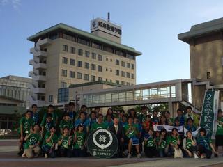 文京学院大学主催の『五街道ウォーク2016 in 中山道』に本学の学生らが参加しました。
