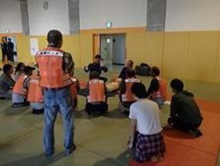 柳津町高桑自治会との合同避難訓練実施