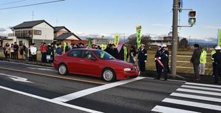 交通安全啓発活動を実施