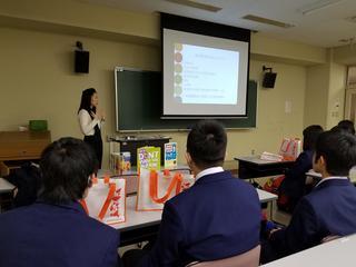山県高等学校の皆さんの大学見学会開催