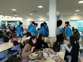 選挙啓発活動を行いました(岐阜キャンパス)