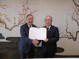 北名古屋市教育委員会と連携協力に関して協定を締結