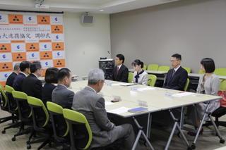 岐阜県立羽島北高等学校と高大連携事業に関する協定締結