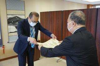 令和2年度岐阜聖徳学園大学優秀教育者賞の表彰式を挙行しました。