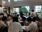 午前中は英語の授業!