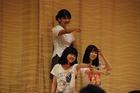 秋桜祭1日目 有志の発表の様子