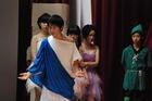 秋桜祭1日目 学級発表の様子