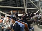 関西国際空港にてチェックイン完了!