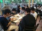 (海外研修9日目)夕食はホテルにてビュッフェメニュー 2