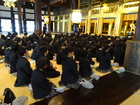 中学一年 京都宗教研修