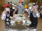 家庭科室には、小さな「和菓子職人」がいっぱい!