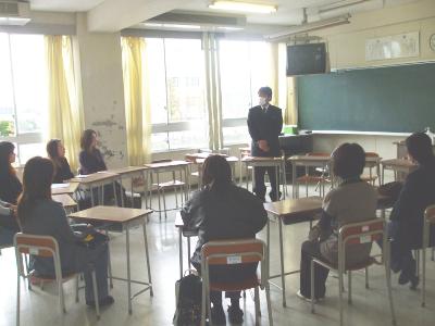 学級懇談会(中学部)