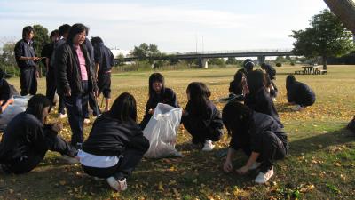 高3クリーン活動(11月19日)