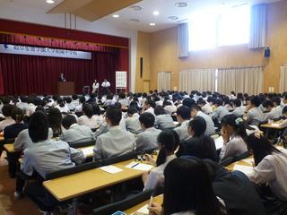 「卒業生と語る会」が行われました!!