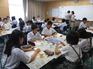 附属小学校の6年生が「授業体験」に来てくれました!!