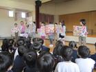 年長組 柳津小学校2年生との交流活動