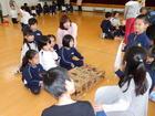 柳津小学校との交流活動