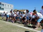 年長組 附属中学校体育祭に参加